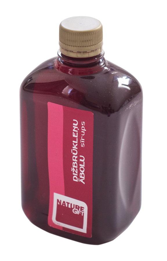 Dižbrūkleņu - Ābolu sīrups (PET pudele) 500ml