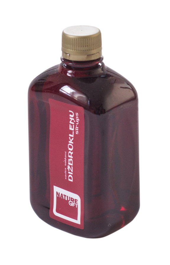 Dižbrūkleņu sīrups (PET pudele) 500ml