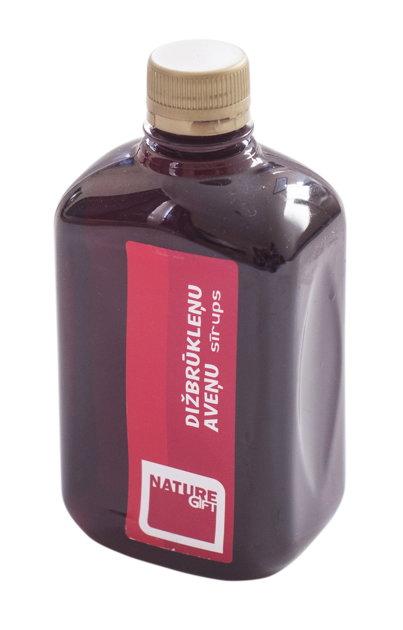 Dižbrūkleņu - Aveņu sīrups (PET pudele) 500ml