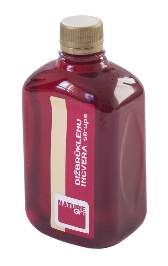 Dižbrūkleņu - Ingvera sīrups (PET pudele) 500ml