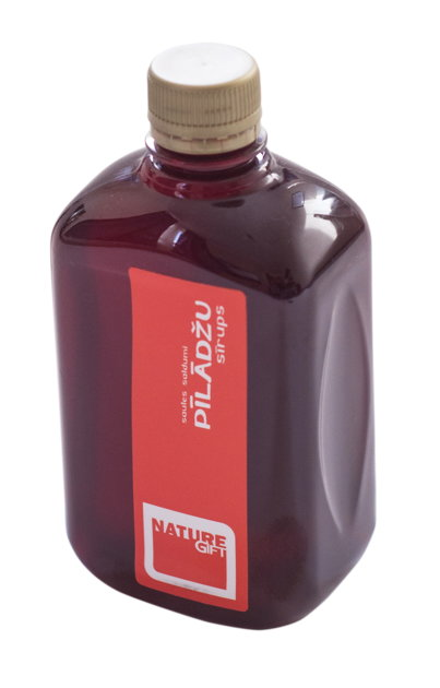 Pīlādžu sīrups (PET pudele) 500ml