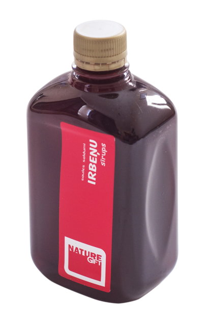 Irbeņu sīrups (PET pudele) 500ml
